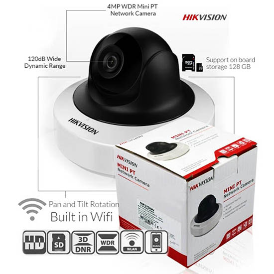 Tính năng Camera Wifi 4.0 Megapixel Hikvision DS-2CD2F42FWD-IWS