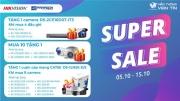 SUPER SALE 10 Ngày Vàng Nhận Ngàn Quà Tặng Cùng HIKVISION & HDPARAGON