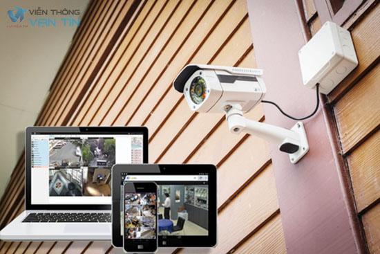 Tiến hành lắp đặt camera có dây quan sát qua mạng