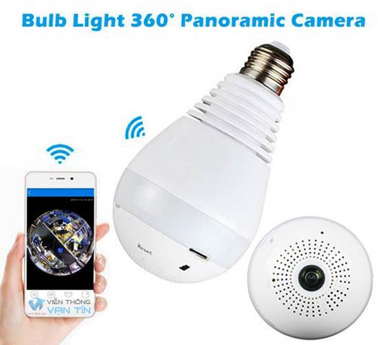 Camera quan sát ngụy trang bóng đèn