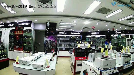 Hình ảnh quan sát Camera Hikvision SH-IVB21UF-IW