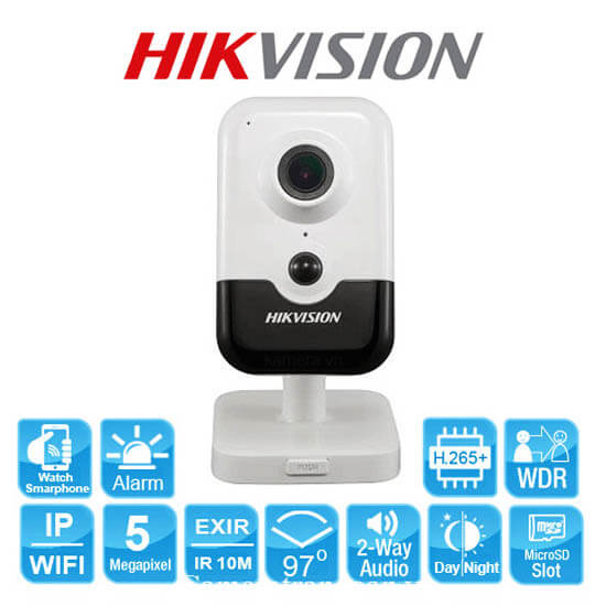 Tính Năng Camera Wifi 5.0 Megapixel Hikvision DS-2CD2455FWD-IW