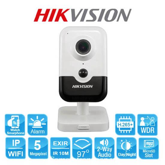 Tính Năng Camera Wifi 5.0 Megapixel Hikvision DS-2CD2455FWD-IW
