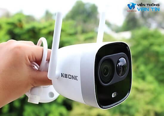 Review Camera IP Wifi 2.0 Megapixel KBVISION KBONE KN-2003WN.PIR