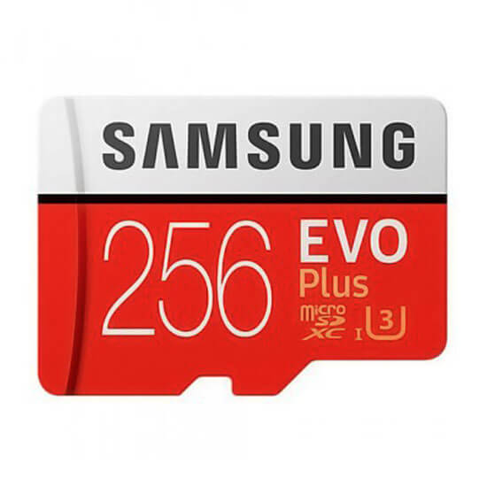 Thẻ Nhớ 256GB Tốc Độ Cao Samsung Evo Plus (Class10)