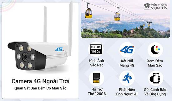 Camera 4G Ngoài Trời SmartZ IS10 Công Nghệ Hiện Đại
