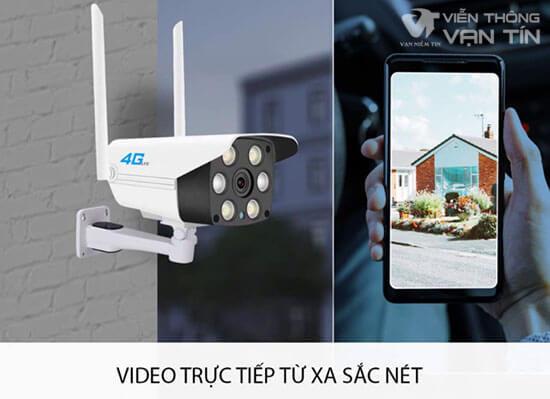 Camera 4G SmartZ IS10 Xem Trực Tiếp Video Từ Xa Sắc Nét