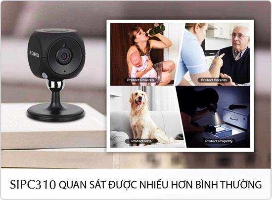 Camera Wifi Mini SmartZ SIPC310 Quan Sát Đa Dạng