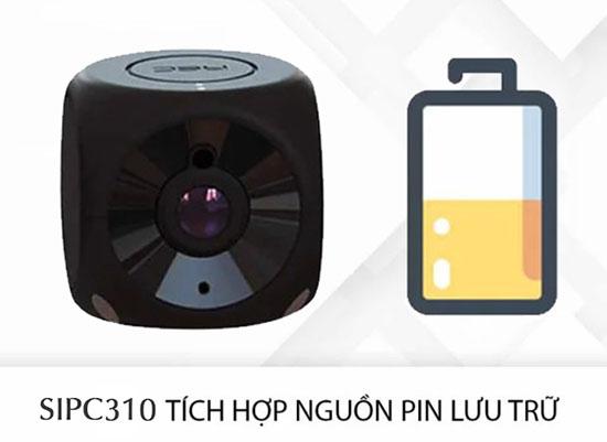 Camera Wifi Mini SmartZ SIPC310 Có Pin Lưu Trữ Tiện Dụng