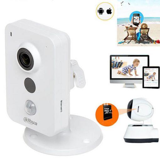 Camera IP Wifi Dahua IPC-K15P Hỗ Trợ Lưu Trữ Dài Ngày