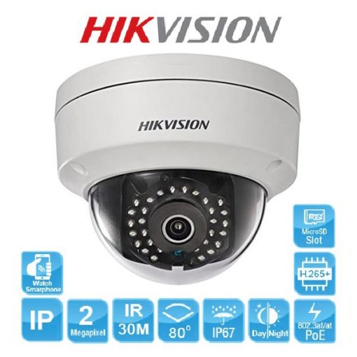 Camera IP Dome Hikvision DS-2CD2121G0-IW công nghệ mới