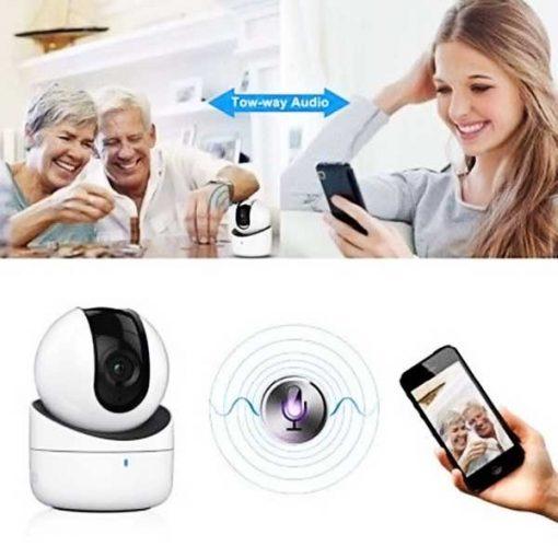 Camera Wi-Fi Robot Mini Hikvision DS-2CV2Q01FD-IW 720P Đàm Thoại 2 Chiều