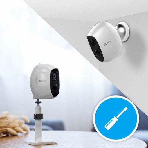 Camera IP Wifi Ezviz CS-C3A 1080p A0-1C2WPMFBR Lắp Đặt Linh Hoạt