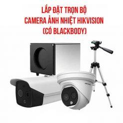 Trọn Bộ Camera Đo Thân Nhiệt Hikvision Có Blackbody - HOT 2020