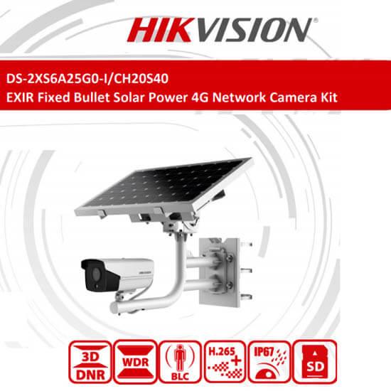 Tính Năng Camera 4G Năng Lượng Mặt Trời HIKVISION DS-2XS6A25G0-I/CH20S40