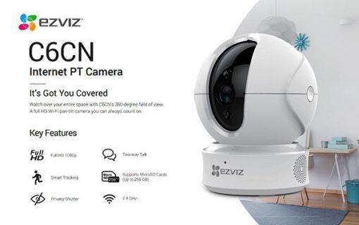 Camera wifi Ezviz CS-CV246-B0-1C1WFR tính năng hiện đại