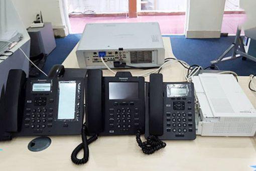 Hình Ảnh Thực Bộ Tổng Đài Panasonic KX-HTS824