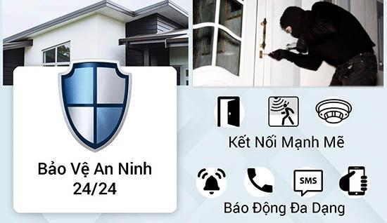 Báo Động Chống Trộm Sim GSM SmartZ GW03 Bảo Vệ Bạn 24/24