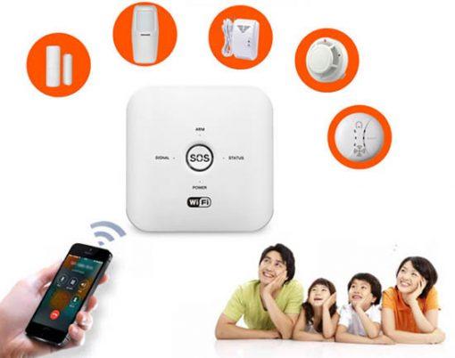 Bộ Báo Động GSM SmartZ GW03 Báo Động Thông Minh Qua App