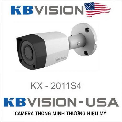 Camera 4 in 1 thân sắt siêu bền KBvision KX-2011S4 Full HD 1080P