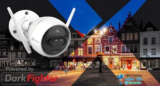 Camera IP Wifi Ezviz C3X Màu Sắc Ban Đêm Sống Động