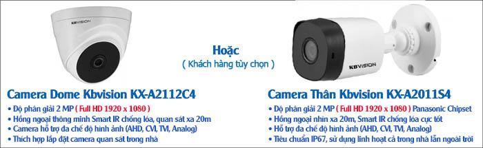 Camera KBvision Gói Lắp Đặt VT-KB132MD Cho Nhà Ở