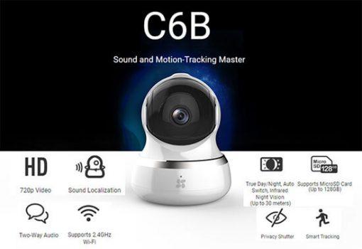 Review EZVIZ C6B CS-CV240-B0-21WFR Cao Cấp