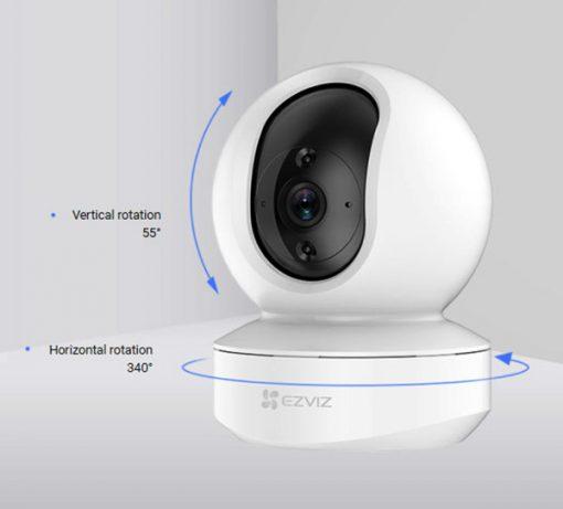 Camera Wifi Robot EZVIZ TY1 Quay Quét Thông Minh