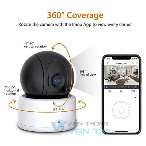 Camera Wifi Robot Dahua IPC-A12EP-IMOU Quay Quét Thông Minh