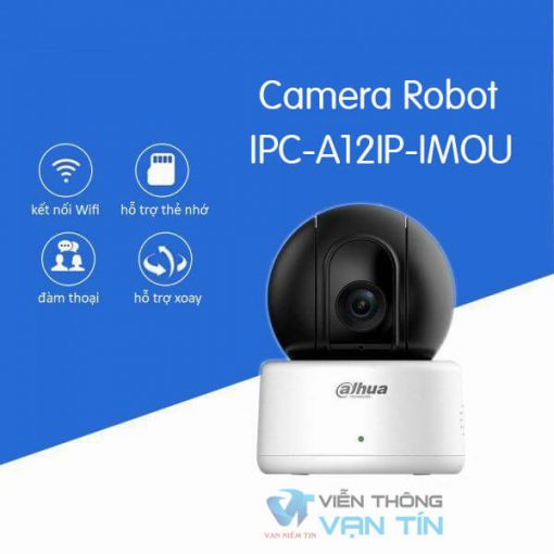 Camera Wifi Robot Dahua IPC-A12EP-IMOU Tính Năng Hiện Đại