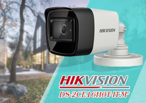 Camera HDTVI DS-2CE16H0T-IT3F Thiết Kế Đẹp