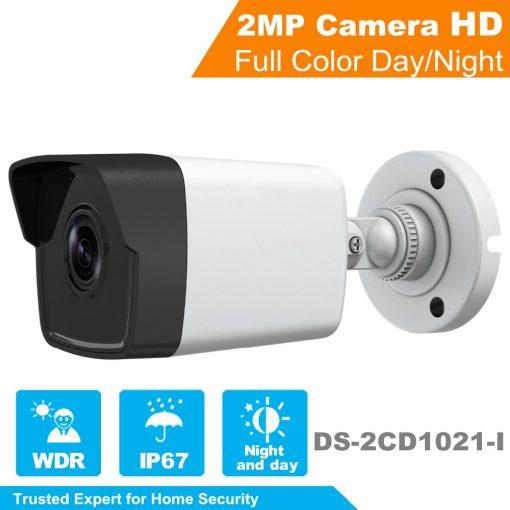 DS-2CD1021-I Camera Thân IP Hikvision Hồng Ngoại 2Mp Giá Rẻ HCM