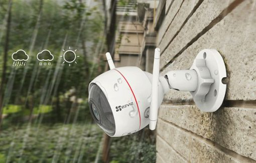 Camera AI Wifi Ezviz C3W 4MP chống nước hoàn hảo