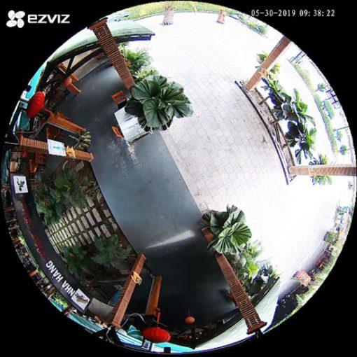Camera IP Wifi Fisheye EZVIZ C6P CS-CV346-A0-7A3WFR Quan Sát Toàn Diện
