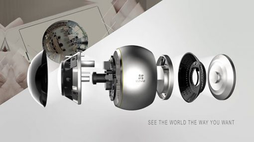 Chi TIết Các Phần Camera IP Wifi Fisheye EZVIZ C6P CS-CV346-A0-7A3WFR