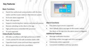 Thông Tin Màn Hình Cửa Wifi Thông Minh Hikvision DS-KH8301-WT