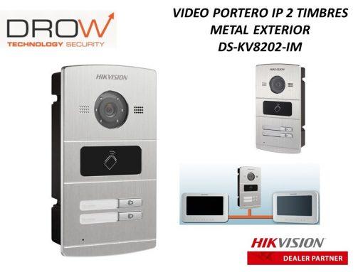 Camera Chuông cửa Hikvision DS-KV8202