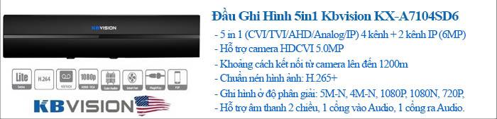 Đầu Ghi Hình Camera KBvision Gói Lắp Đặt VT-KB132MD Cho Nhà Ở