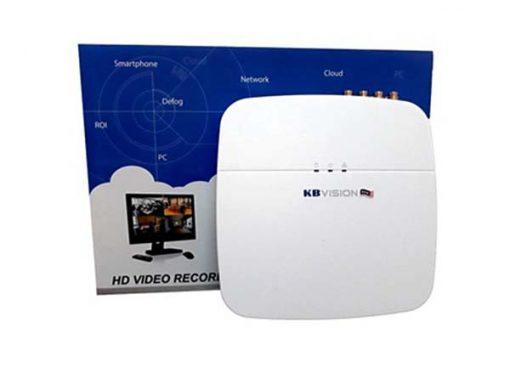 Review Đầu ghi hình HD 5 Kênh KBvision KX-7104TH1