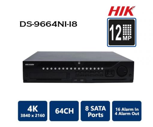 Tính Năng Đầu Ghi Hình NVR Hikvision DS-9664NI-I16 64 kênh