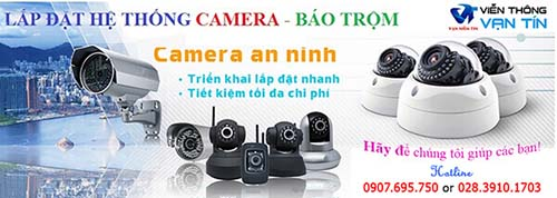 Dịch vụ lắp đặt camera quan sát tại TPHCM