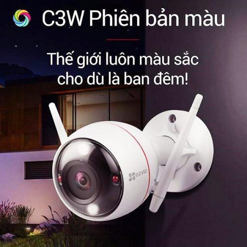 Camera AI Wifi Ezviz C3W 4MP Có Màu Ban Đêm