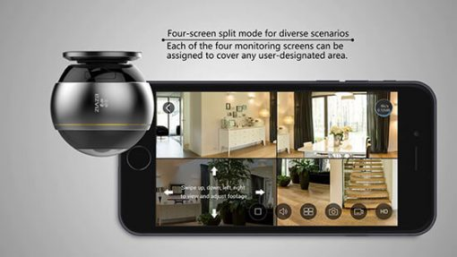 Camera IP Wifi Fisheye EZVIZ C6P CS-CV346-A0-7A3WFR Hình Ảnh Sắc Nét