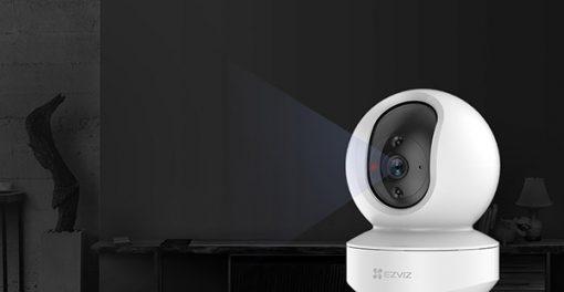 Camera Wifi Robot EZVIZ TY1 Hồng Ngoại Coi Đêm Rất Tốt