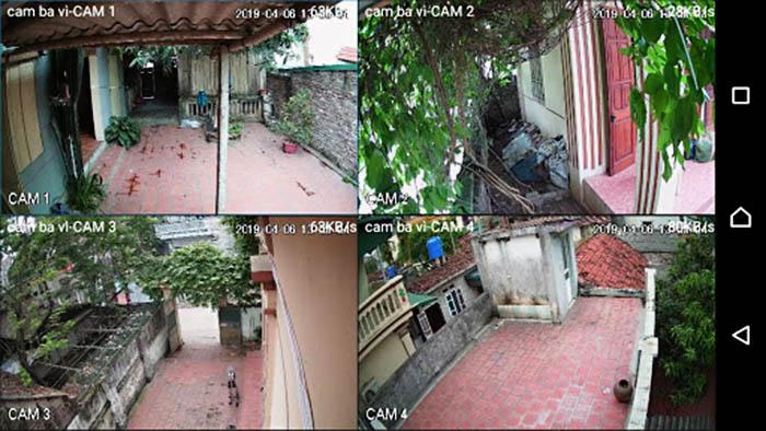 Hình ảnh camera quan sát Hikvision DS-2CE16B2-IPF ghi lại được