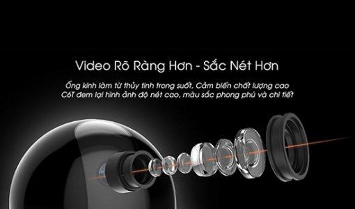 Camera Wifi 360 Độ Ezviz CS-CV248 Ống Kính Hiện Đại
