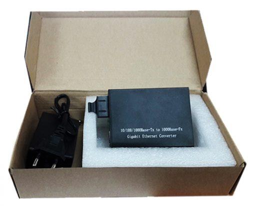 Hộp Box Bộ chuyển đổi Quang ra Lan G-NET HHD-120G-40