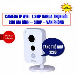 Trọn Bộ Camera Wifi 1.3MP Dahua DHI-K15P Giá Rẻ Đang Sale HOT