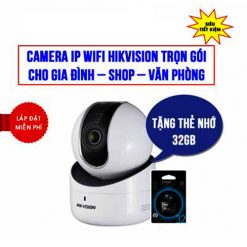 Khuyến Mãi Trọn Gói Camera Wifi Robot Hikvision HKI-2Q21FD-IW
