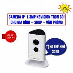 Trọn bộ camera Kbvision KBI-H13WN không dây giá rẻ HCM